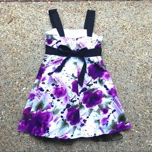 Iz Byer California junior size 11 purple dress
